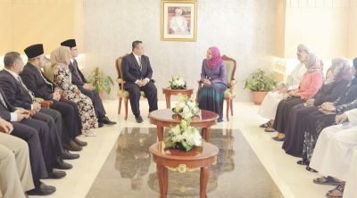 Education Minister Receives Crown Prince of Perlis