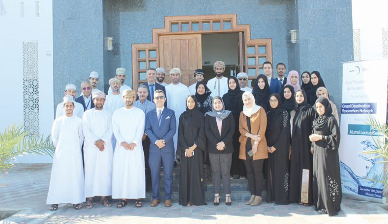 MEDRC hosts Oman's leading desalination researchers