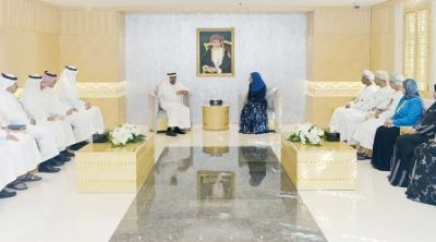 Education Minister Receives Saudi Educational Official