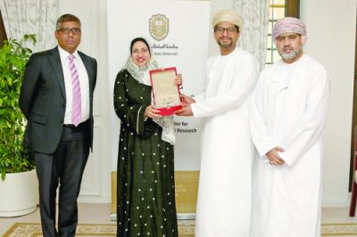 Muscat Finance supports research, innovation at SQU
