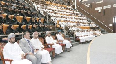Orientation for new students at Sohar University