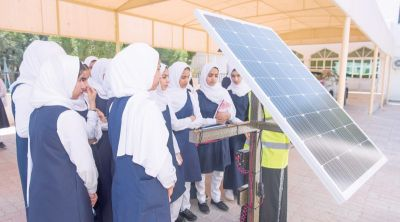 Solar science labs for four schools in Muscat