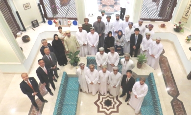 Envoy encourages more Omanis to study in Japan