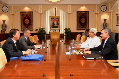 Lakehead University Seeks Ties with SQU