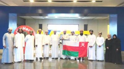 Omani team bags first place