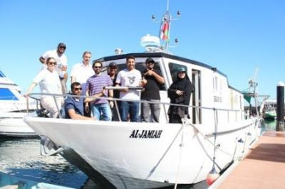 Workshop teaches SQU faculty seafloor mapping technique