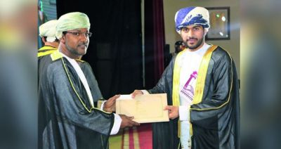 Nizwa College of Applied Sciences Holds Graduation Ceremony