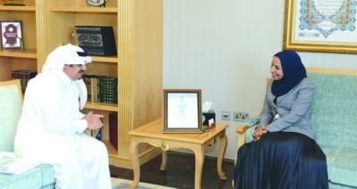 Education Minister Receives DG of ABEGS